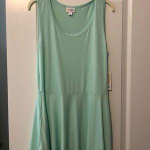 NWT Size M LuLaRoe Mint Nicki Dress